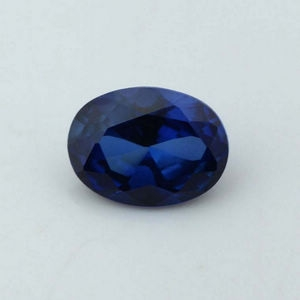 oval cut synthetic sapphire stones for sale