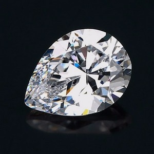 loose pear shaped cubic zirconia cz