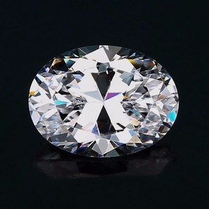 oval shaped cubic zirconia loose stone