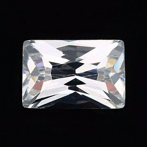 baguette cut cubic zirconia loose stones wholesale