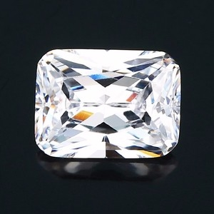 octagon cut cubic zirconia stone manufacturers