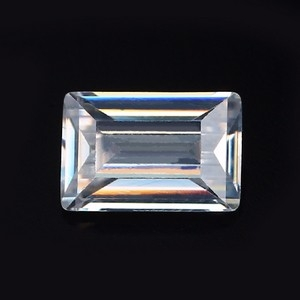 highest quality emerald cut cubic zirconia loose stones